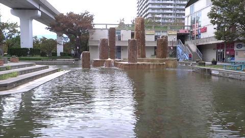 水が吹き出すモニュメント1 ライブ動画