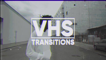 VHS Transitions Premiere Pro Template