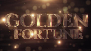 Golden Fortune Motion Graphics Template