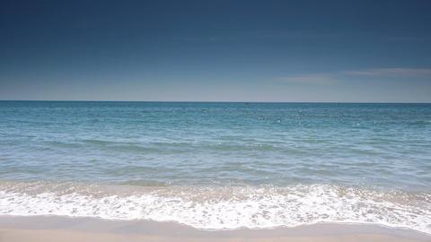Coastline at Cote D'Azur, France Live Action