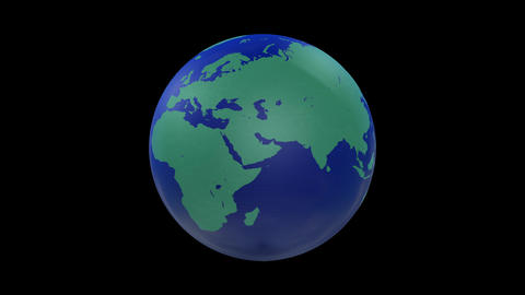Earth CG 18 A1 4k CG動画