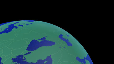 Earth CG 18 B1 4k CG動画