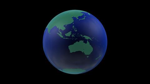 Earth CG 18 A3 4k GIF