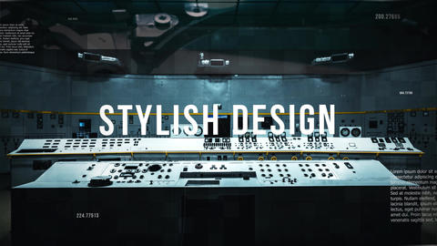 Tech Slideshow After Effects Template