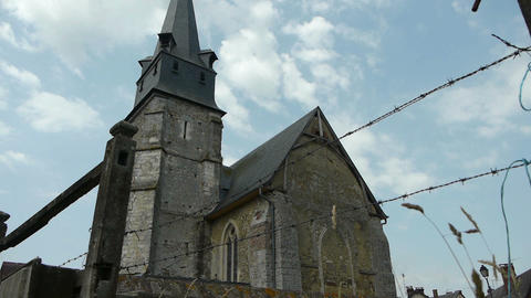Little old french church Footage