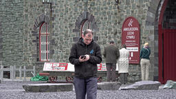 LLanberis, Snowdonia / Wales - May 03 2018 : The National Slate Museum is an Footage