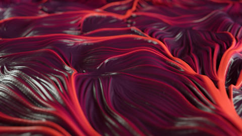 4K Abstract Muscle Tissue ビデオ