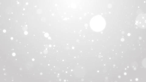 Clean particles glittering background looped Animation