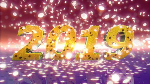 New Year 2019 Animation Animation