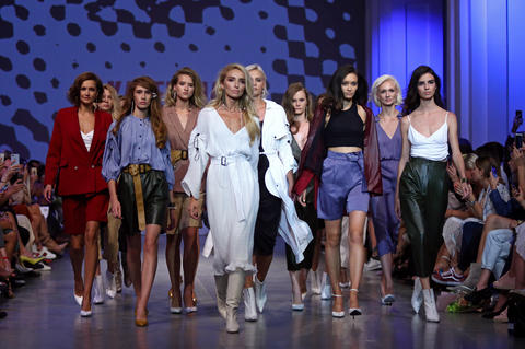 Ukrainian Fashion Week SS19: collection by KATERINA KVIT Photo