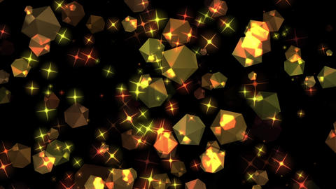 Diamond background material CG Glitter Animation