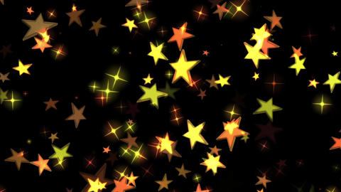 Star background material CG Glitter Animation