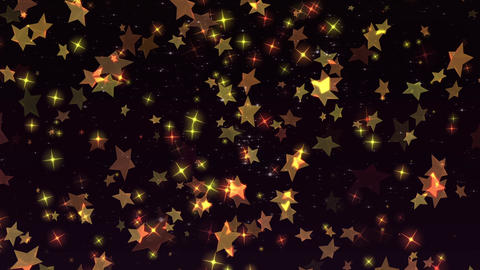 Star background material CG Glitter Graphics Animation