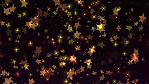 Star background material CG Glitter Graphics CG動画