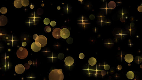 Rising sphere background material CG Glitter Abstract CG動画