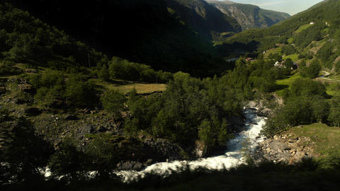 Beautiful Valley in Northern Norway Live Action