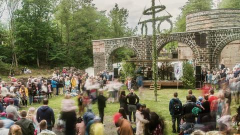 Midsummer Festival Timelapse Live Action