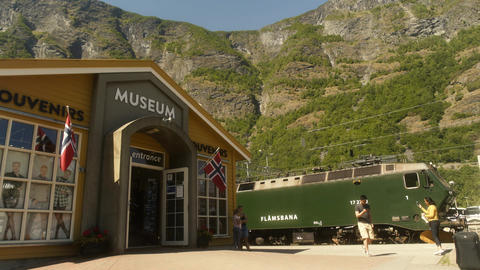 Museum in the Fjords of Flam Norway Live Action