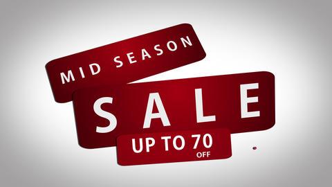 Midseason Sale Promo CG動画素材