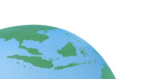 Earth CG 18 B3w 4k CG動画
