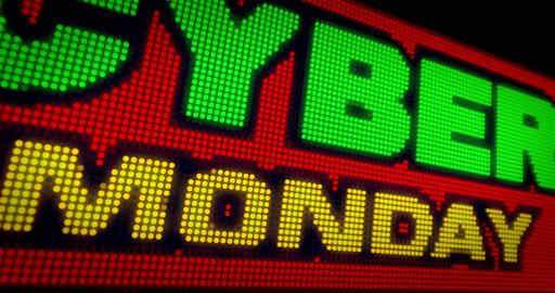 Cyber Monday LED Animation