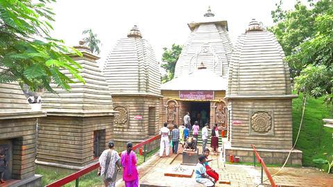 Durga Puja Pandal, Kolkata, West Bengal, India GIF