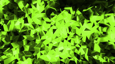 Abstract shining triangular geometric loop background Animation