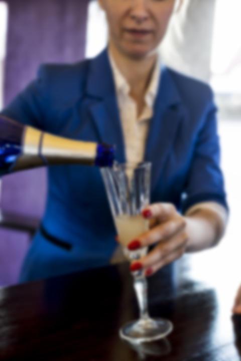 Pouring wine , vintage, Valentine's Day, close up Fotografía
