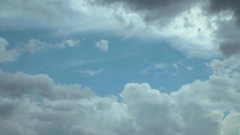 4K The beautiful blue sky in Japan Archivo