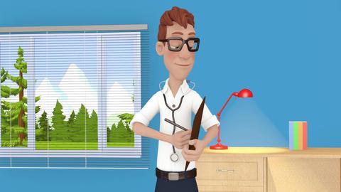 Cartoon Doctor GIF