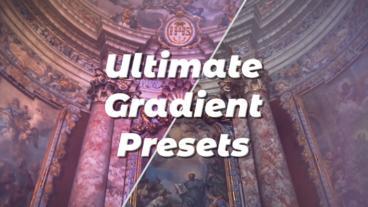 Ultimate Gradient Presets Premiere Pro Effect Preset