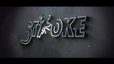 Stroke Logo After Effectsテンプレート