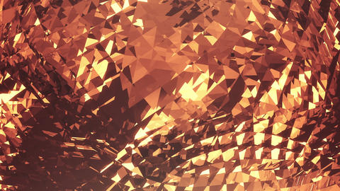 golden crystal loopable background Live Action