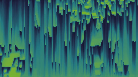 4K Abstract Glitch Technology Background Footage