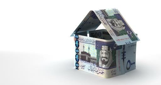 Real Estate Saudi Arabian Riyals Animation