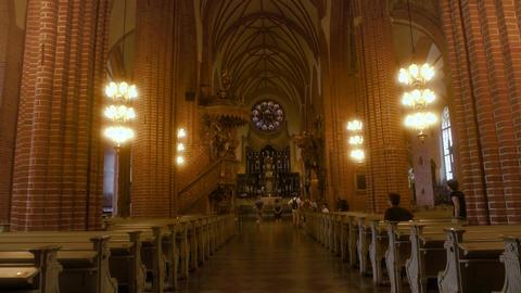 Storkyrkan Church in Stockholm Footage