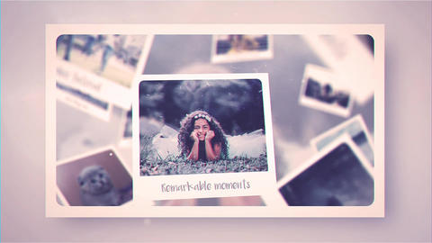 Memory Frames After Effects Template