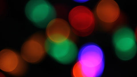 Christmas lights Footage