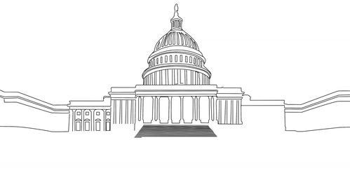 4 K Capitolium handdraw design 1 Animation