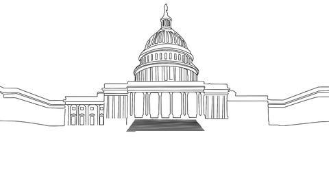 Capitolium handdraw design 1 Animation