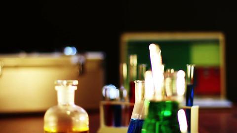 Laboratory CSI 01 dolly Footage