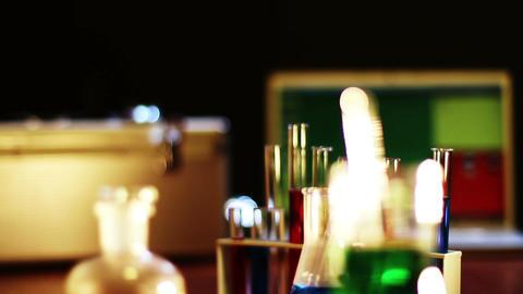 Laboratory CSI 01 dolly Stock Video Footage