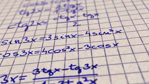 Science Mathematics 1 Stock Video Footage