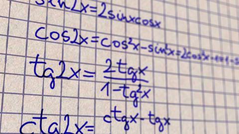 Science Mathematics 3 Stock Video Footage