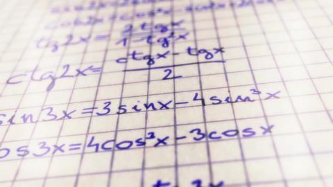 Science Mathematics 7 Stock Video Footage