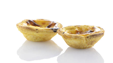 Pasteis de nata Stock Video Footage