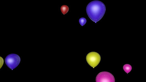 balloon up transition Stock Video Footage