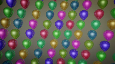 fun balloons array Animation