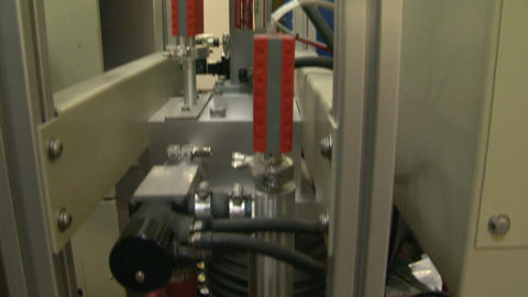The compressor in the laboratory Stock Video Footage