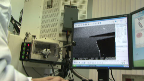 Laboratory of nanotechnologies Footage